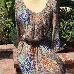 EUC Anthro Corey Lynn Calter Silk dress